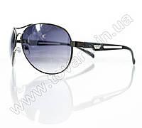 Очки унисекс солнцезащитные - Armani - Черные - 1606