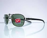 Очки Ray-Ban мужские солнцезащитные - Серебряные - 8302