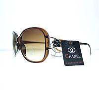 Очки женские Chanel солнцезащитные - Коричневые - 8309