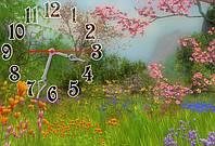 """Часы-картина """"Весна"""" 30х45 см красивый подарок"""