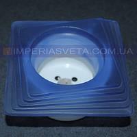 Светильник точечный встраиваемый для подвесного потолка Vito стеклянный LUX-35324