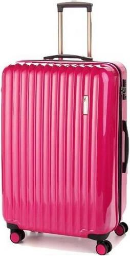 Чемодан-гигант пластиковый для всей семьи на 4-х колесах 112/117 л. Sumdex (Самдекс) SWR-725CP розовый