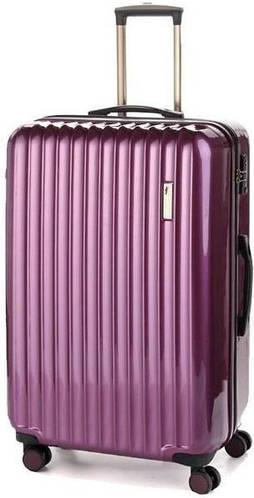 Семейный пластиковый чемодан-гигант на 4-х колесах 112/117 л. Sumdex (Самдекс) SWR-725RP фиолетовый