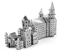 Конструктор 3D металлический Замок Нойшванштайн Сборная модель