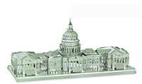 Конструктор 3D металлический Капитолий США Сборная модель