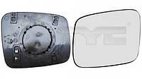 Стекло бокового  L зеркала с подогревом