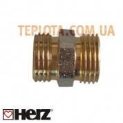 Herz Соединение для стыковки труб, 1*2 дюйма