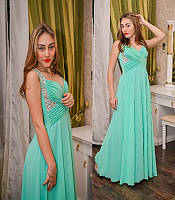 Вечернее платье С камнями по бокам