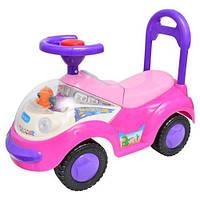 Машинка-каталка толокар Bambi M0531 музыкальная 4 цвета