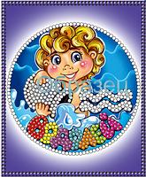 Схема для вышивки бисером Знаки зодиака.Водолей КМР 6015