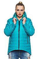 Модная женская курточка стеганная