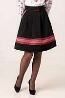 Стильная женская юбка с орнаментом, фото 1