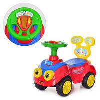Детская машинка-каталка толокар Bambi Q-01-2 свет,музыка