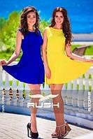 Летнее платье солнце-клеш