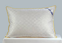 Подушка пуховая Гедеон 30 % пух 70 % мелкое перо белый цвет натуральная Киев