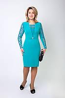 Яркое женское платье модного дизайна