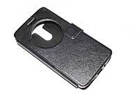 Кожаный чехол книжка для LG G3s Dual D724 Beat  черный