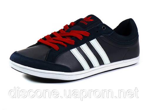 Кеды Adidas Originals мужские, комбинированные, темно-синие/ белые/ красные