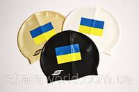 Шапочка для плавания SPRINTER с Украинским флагом