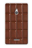 Чехол для Nokia X2 (Плитка шоколада)