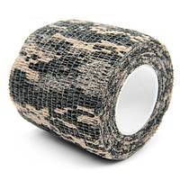 Маскировочный камуфляжный бинт US All Terrain Digital Camouflage