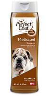8 in1 ( 8 в 1) Medicated Shampoo Шампунь лечебный для сухой кожи у собак
