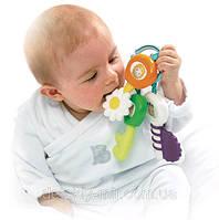 Погремушка Прорезыватель для зубок Брелок с ключами Cotoons Smoby 211300