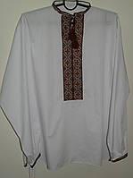 Вышитая сорочка мужская SAM 0707