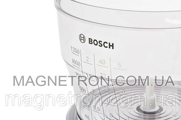 Чаша измельчителя для блендера Bosch 1250мл 703353, фото 2