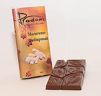 Молочно-имбирный шоколад 70г Prodan`s