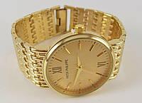 Мужские часы Patek Philippe 3100G золотистые