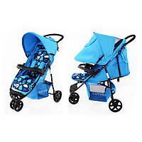 Коляска трехколесная прогулочная Carrello Comfort CRL-1405 Blue