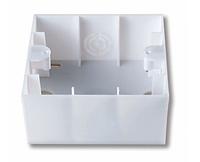 Короб для наружного монтажа белый, крем Viko Karre