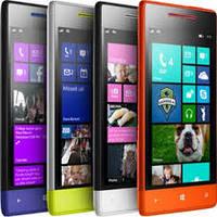Nokia Lumia 8XT,2 активные сим, 4 дюйма,чувствительный резистивный сенсор,яркие цвета.