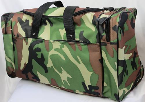 Компактная дорожная сумка 45 л. Wallaby 3051 камуфляж