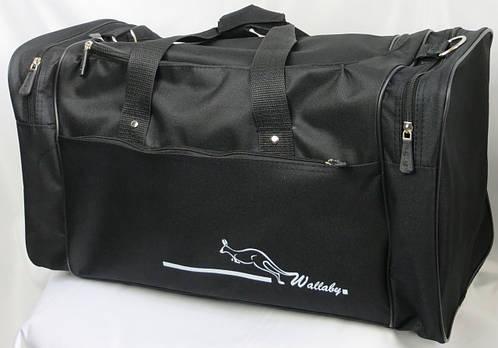 Небольшая дорожная сумка 45 л. Wallaby 3050 черный