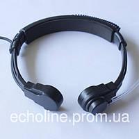 Гарнитура Ларингофон для радиостанций с кнопкой на палец Kenwood Baofeng Linton Wouxun