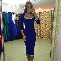 Женское Платье  длина миди Мода 2015