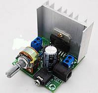 Усилитель звука мощности стерео на TDA7297 2х15W с регулятором громкости