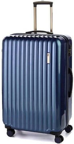 Семейный пластиковый чемодан-гигант на 4-х колесах 112/117 л. Sumdex (Самдекс) SWR-725NB синий
