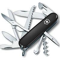 Складной качественный нож Victorinox Huntsman 13713.3 черный