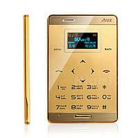 Ультратонкий сенсорный  мобильный телефон AIEK М3 на 1 сим карту(цвет: золотой)