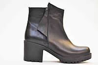 """Кожаные ботинки на меху """"Молния"""""""