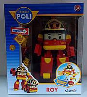 """Трансформер Робокар поли """"Рой"""" 12.5 см., с подсветкой Robocar poli"""