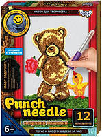 "Набор для творчества ""Punch needle"" ковровая вышивка ТМ Danko Toys"