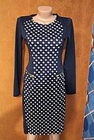Чудесное платье в горох, р.S - 42-44