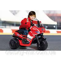 Электромобиль Мотоцикл Ducati Desmosedici Peg Perego Iged0918