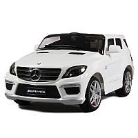 Детский электромобиль Mercedes AMG ML63 WHITE - купить оптом