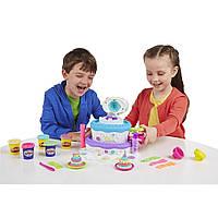 Игровой набор Праздничный торт пластилин Play Doh