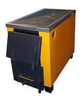 КОТВ-17,5 (Тайга) Твердотопливный котел на 2 конфорки, котел-печь для отопления и приготовления пищи.